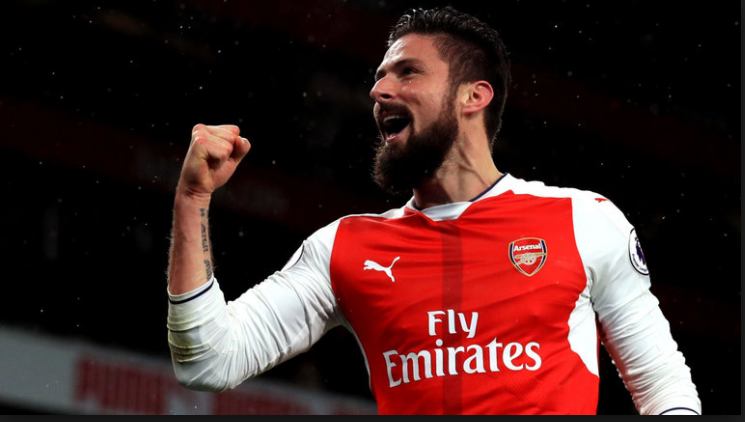 giroud arsenal man