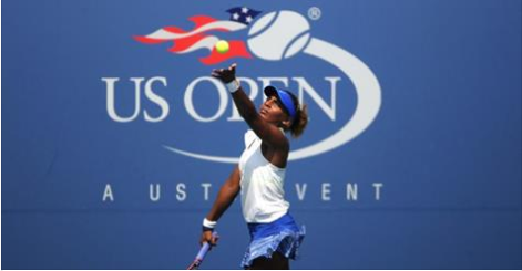 Alicia black at the US open